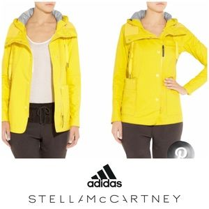 ⬇️Adidas by Stella McCartney yellow rain jacket S